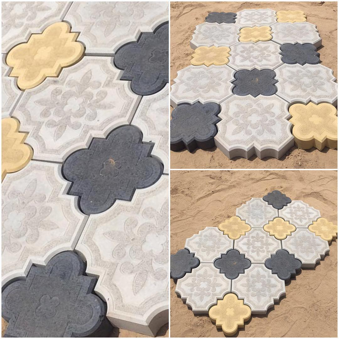 8 tuff tiles designs colors black yellow and grey