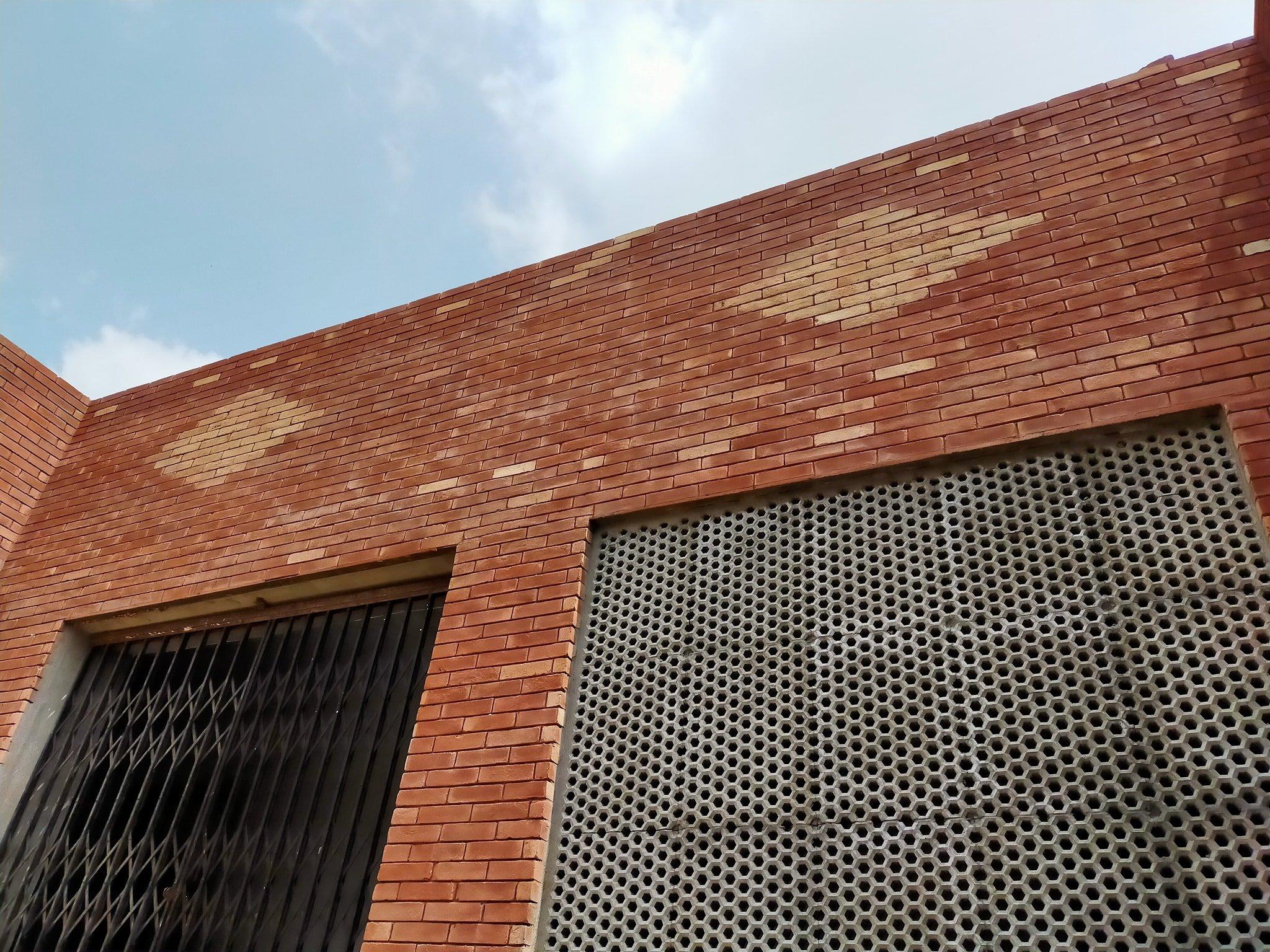 Lahori gutka bricks wall tiles