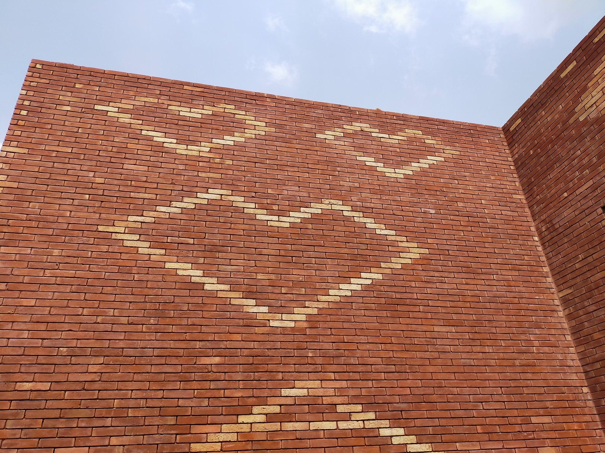 10 Lahori gutka bricks face tiles texture in pakistan