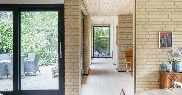 Yellow Bricks Wall Face Tiles Gutka Tiles Designs