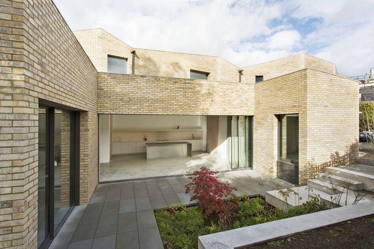 3 Yellow gutka tile designs house ftont wall tiles
