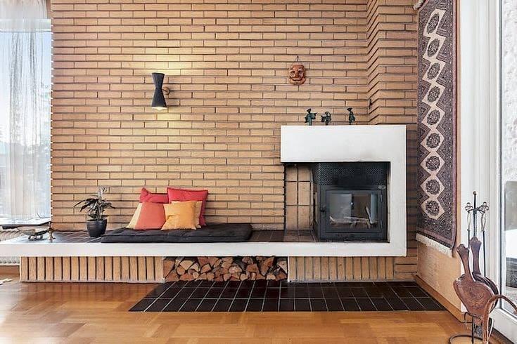 Yellow interior wall tiles gutka brick size