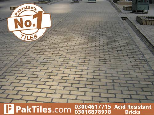 Acid resistant tiles design