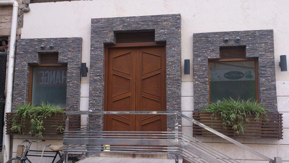 Home Front Door Chakwal Stone Tiles in Karachi
