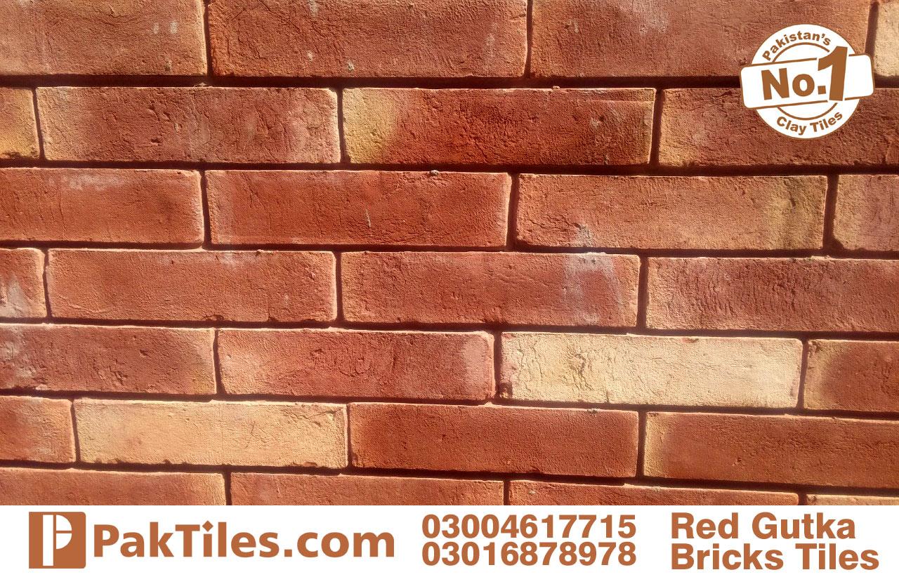 red gutak face bricks tiles