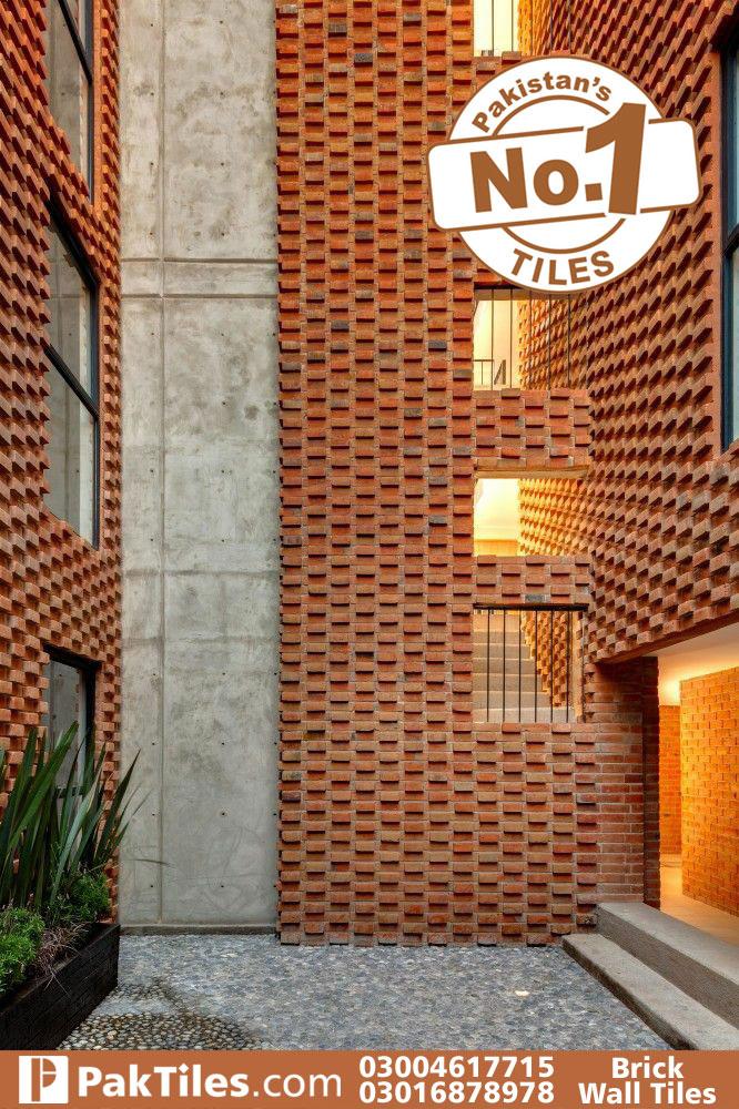 Brick wall tiles texture