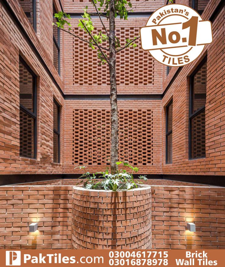 Wall tiles design for outside house