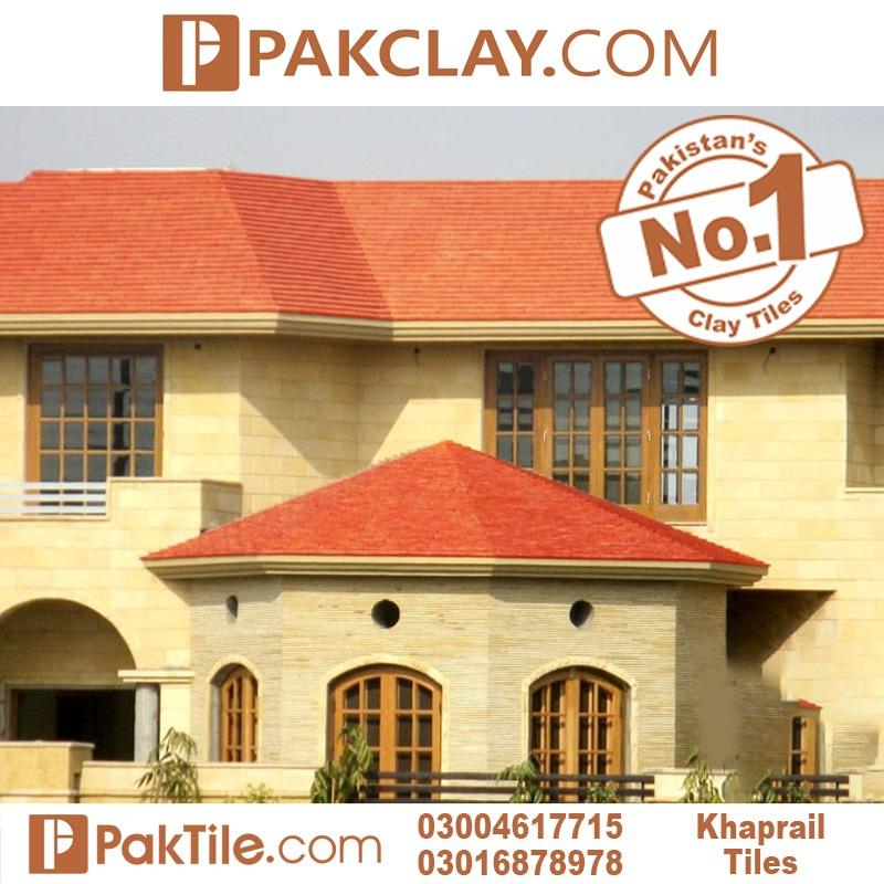 Kagan Terracotta Khaprail Roof Tiles Design