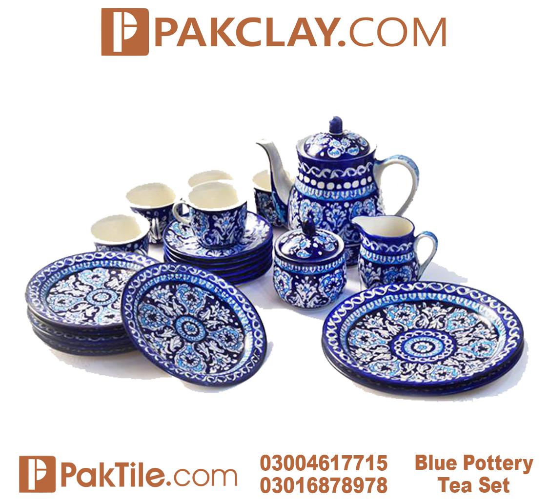 1 Multani Blue Pottery Tea Set in Lahore