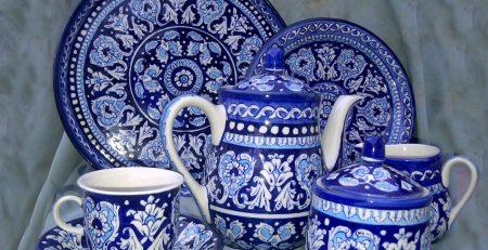 5 Multani Blue Pottery Tea Set Price in Pakistan5 Multani Blue Pottery Tea Set Price in Pakistan
