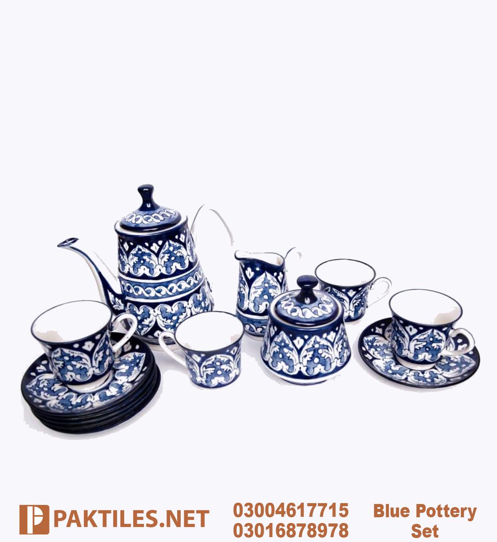 7 Blue Pottery Multani Tea Set Online Shop Lahore